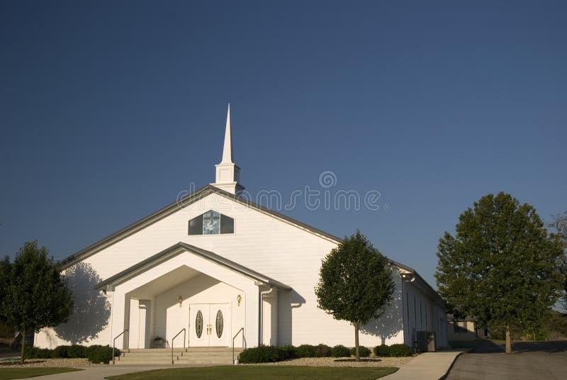 kościelny nowożytny biel zdjęcie stock
