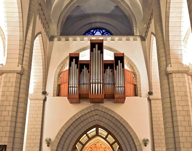 kościelny organ obrazy royalty free