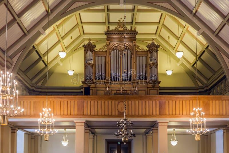 Kościelny organ fotografia stock