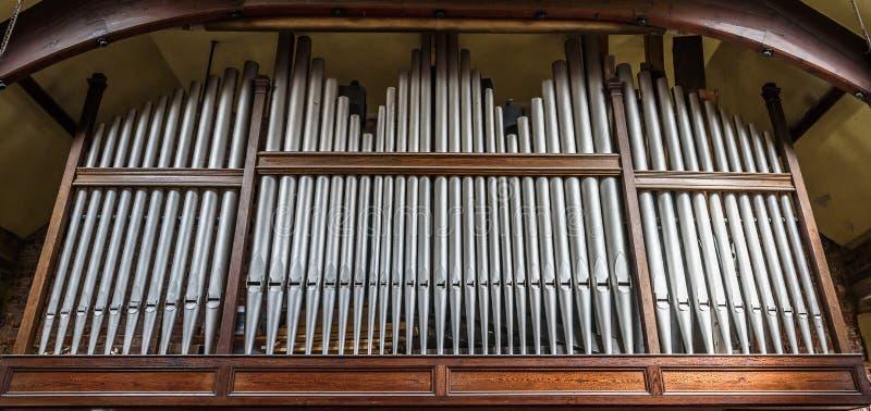 Kościelny organ obraz stock