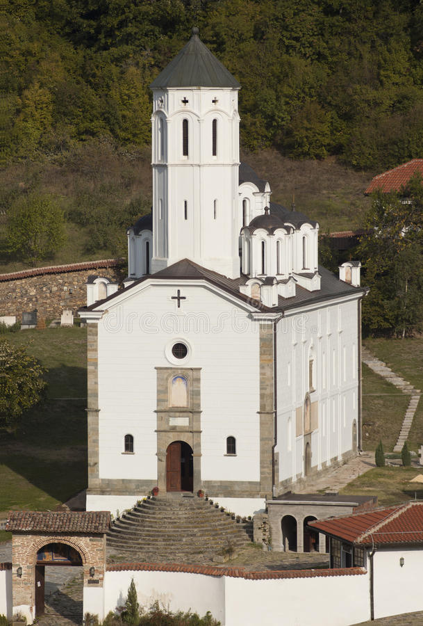 kościelny ortodoksyjny serbian obraz royalty free