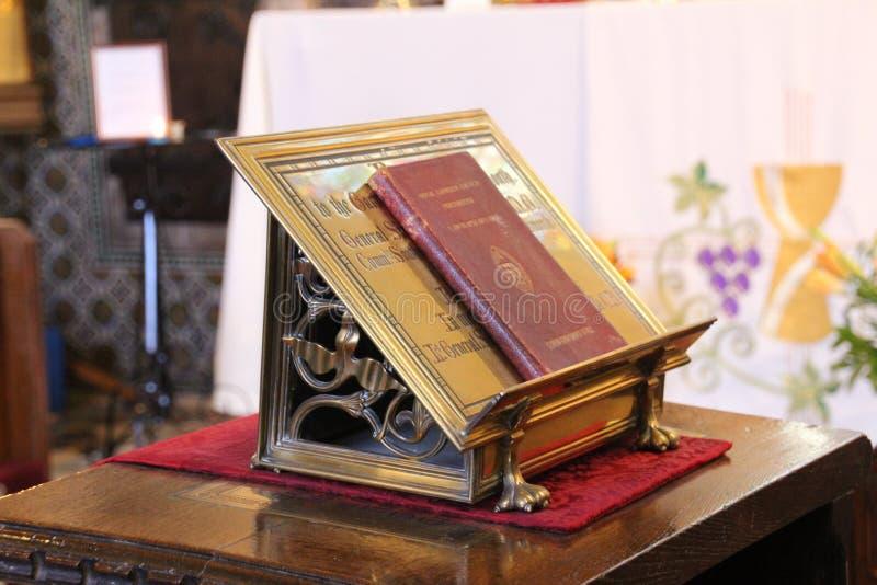Kościelny pulpit obrazy stock