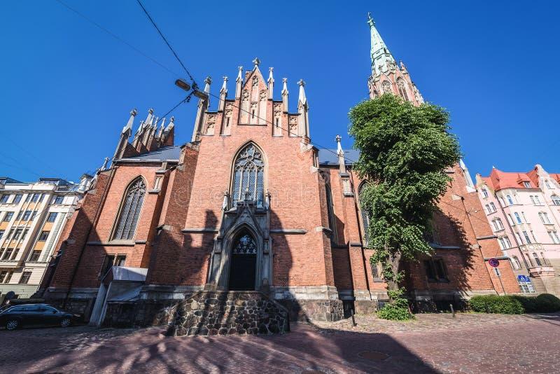 kościelny Riga zdjęcie royalty free