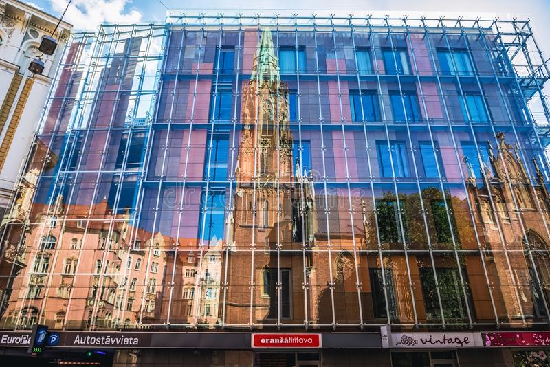 kościelny Riga obraz stock