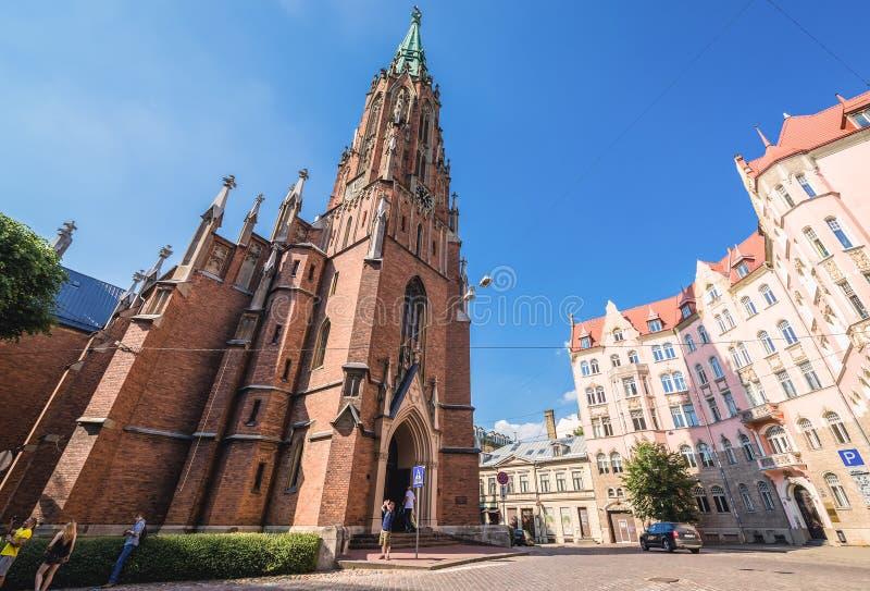 kościelny Riga zdjęcia stock