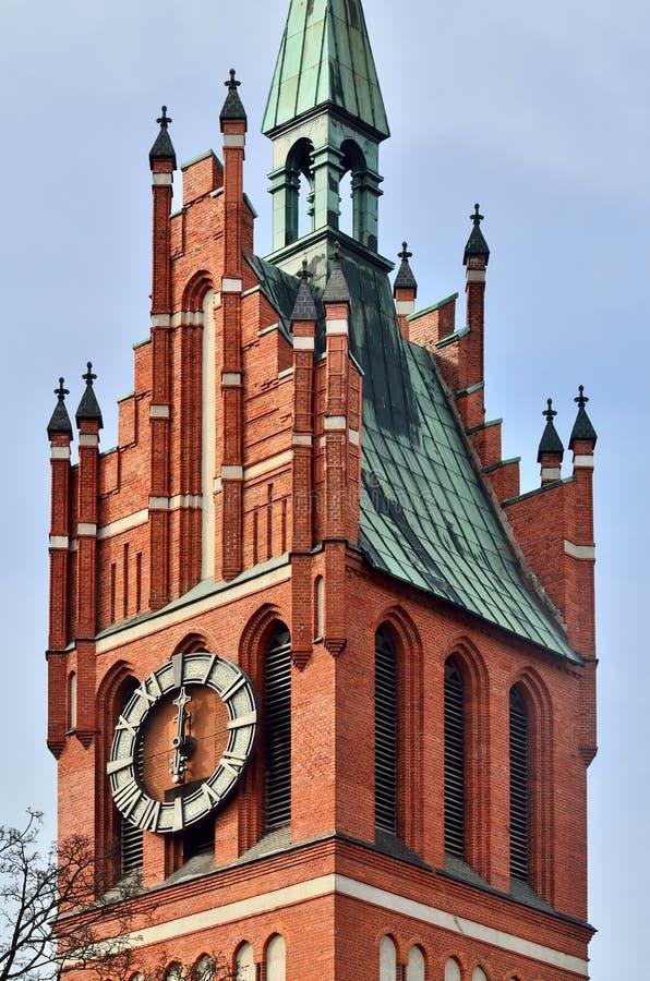 kościelny rodzinny święty Kaliningrad, poprzedni Koenigsberg, Russ zdjęcie stock