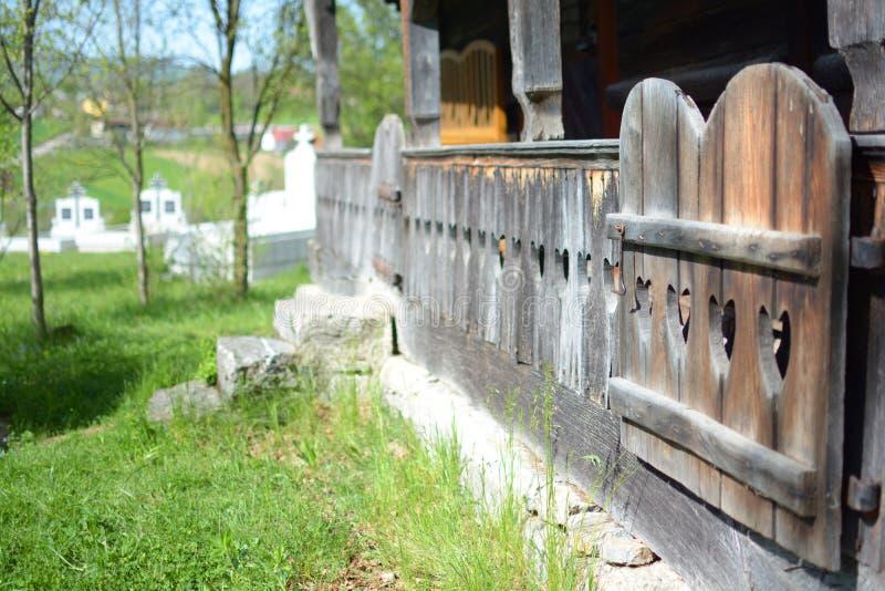 kościelny stary drewno obrazy royalty free