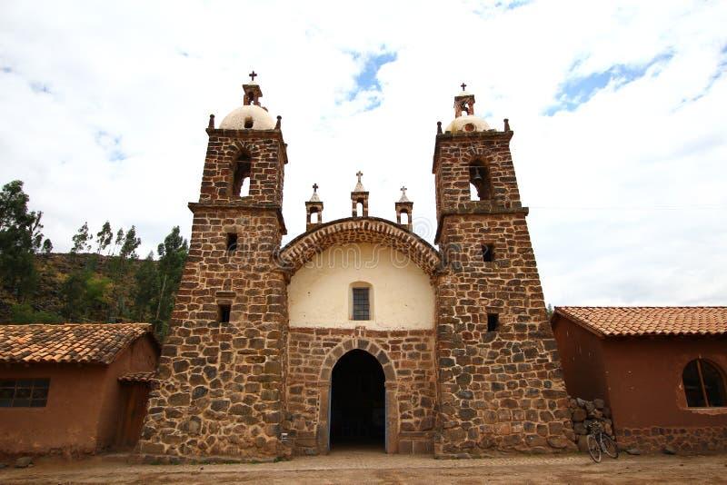 kościelny stary wiejski kamień zdjęcie stock