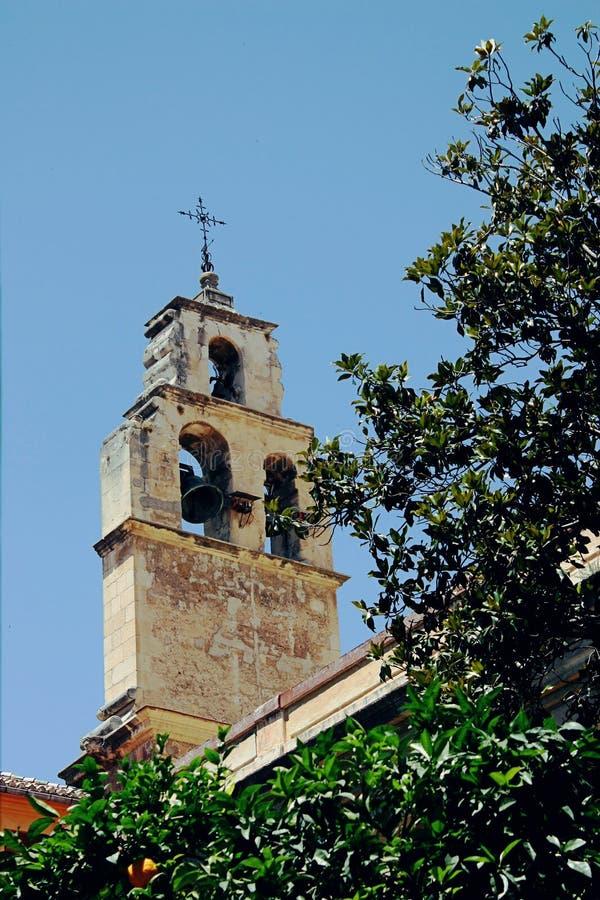 Kościelny szczegół w Granada, Hiszpania obrazy royalty free