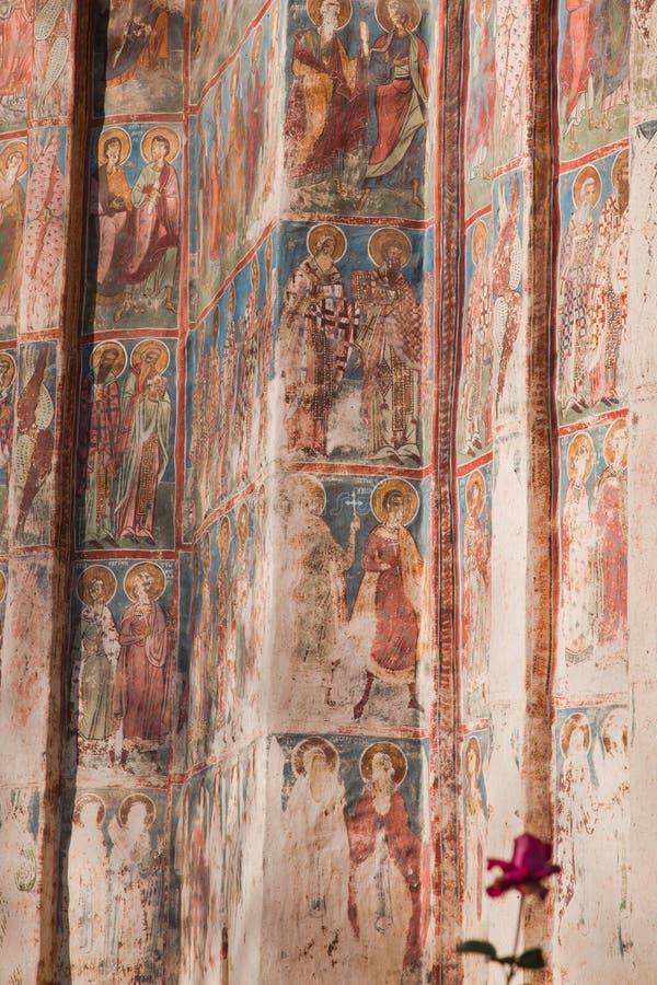 kościelny szczegółu humoru monaster fotografia stock