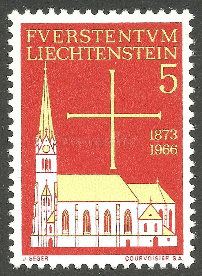 Kościelny Vaduz fotografia royalty free