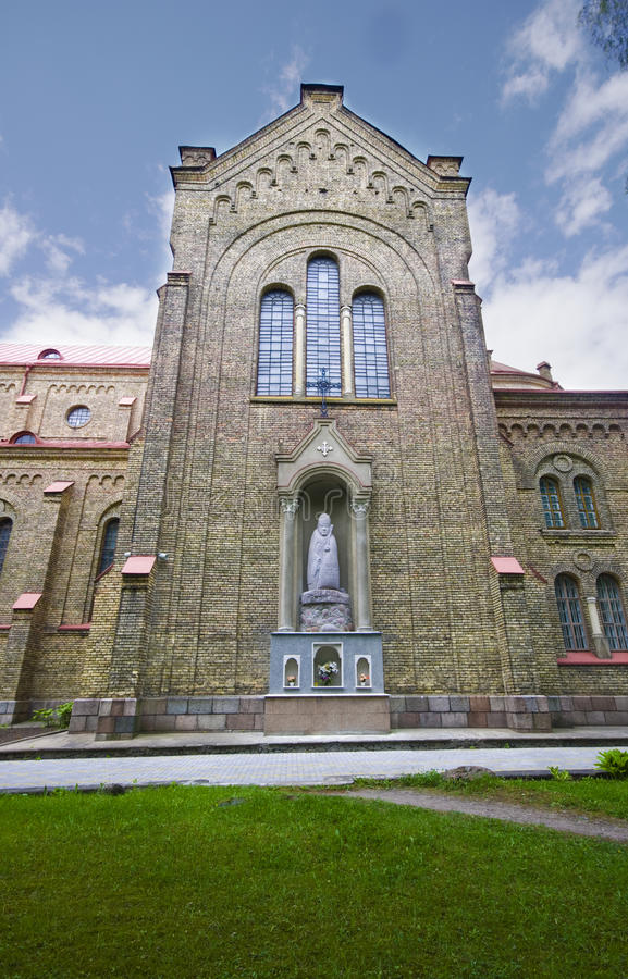 kościelny Vilnius fotografia stock