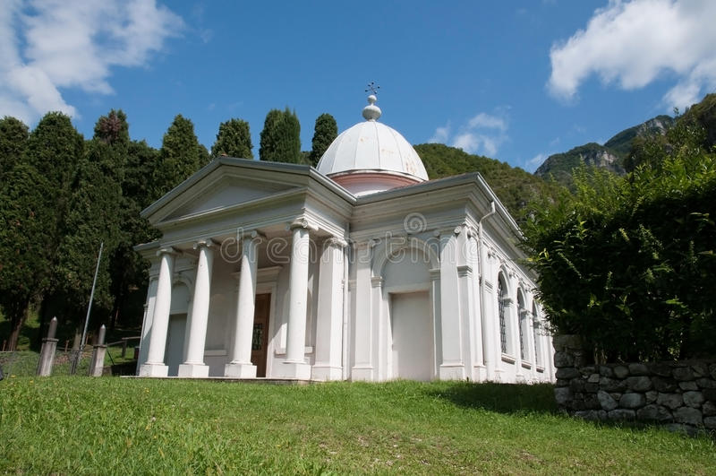 kościelny włoski mały typowy fotografia stock