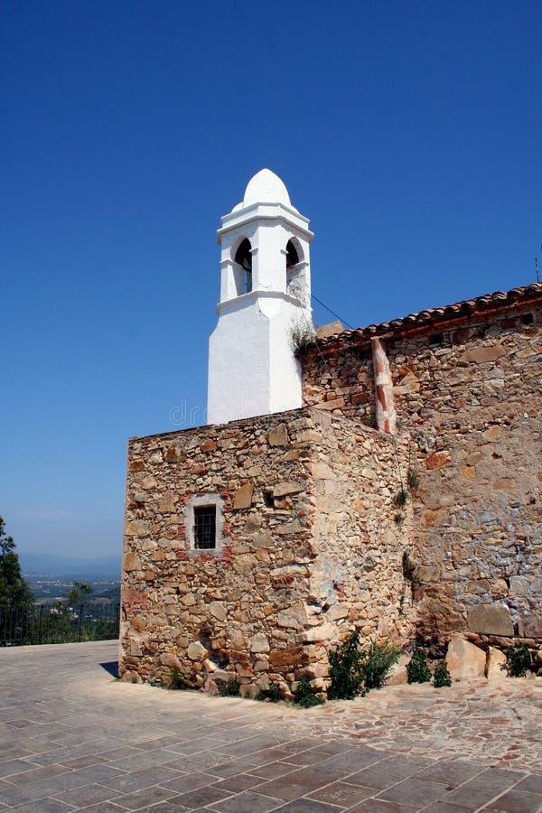 kościelny wierza biel obrazy stock