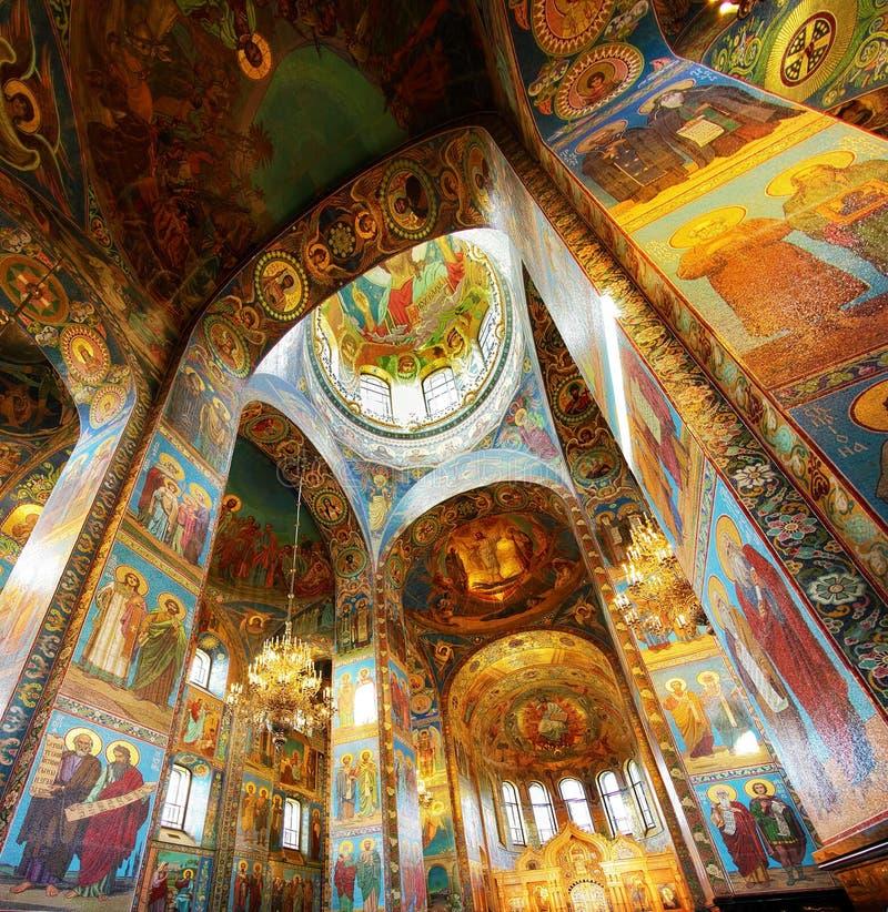 kościelny wnętrze zdjęcia stock