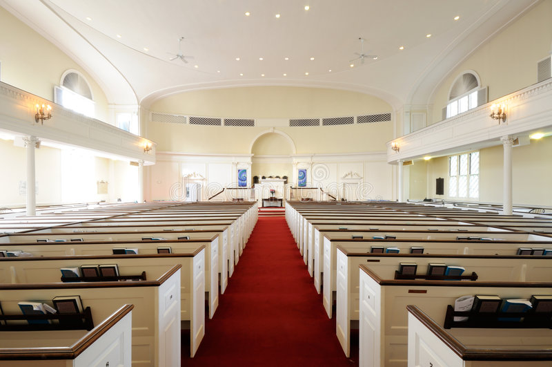 kościelny wnętrze obraz stock