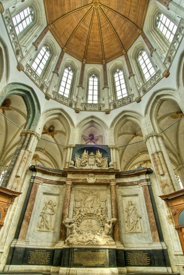 kościelny wnętrze zdjęcie stock
