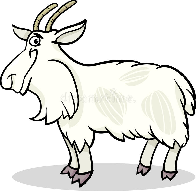 Download Koźlia Zwierzęta Gospodarskie Kreskówki Ilustracja Ilustracja Wektor - Ilustracja złożonej z kreskówka, śmieszny: 28963310