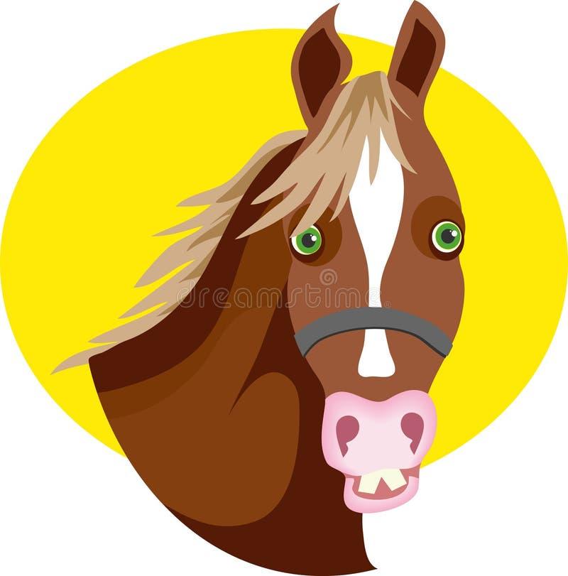 Download Koń ilustracja wektor. Obraz złożonej z natura, farm, equestrian - 44287