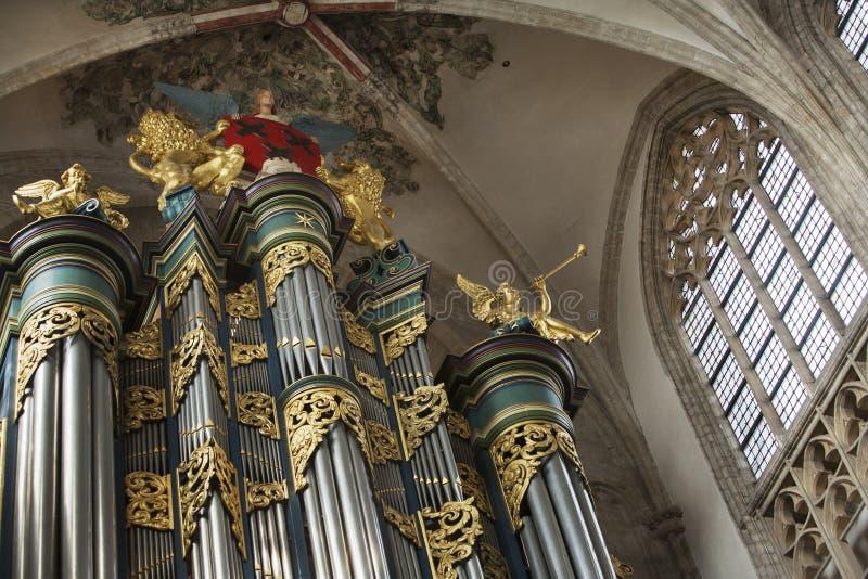 Download Kościelny organ obraz stock. Obraz złożonej z organ, nikt - 53782745