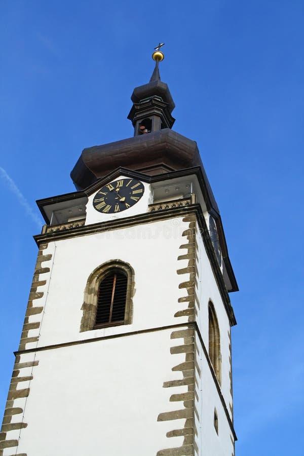Download Kościelny wierza zdjęcie stock. Obraz złożonej z twarz - 13333320