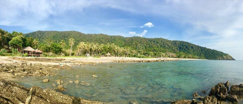 Ko Lanta Yai strand royaltyfria foton