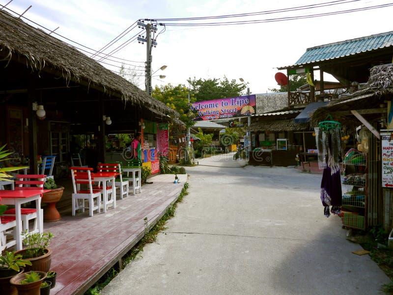Ko Lipe,泰国 免版税库存照片
