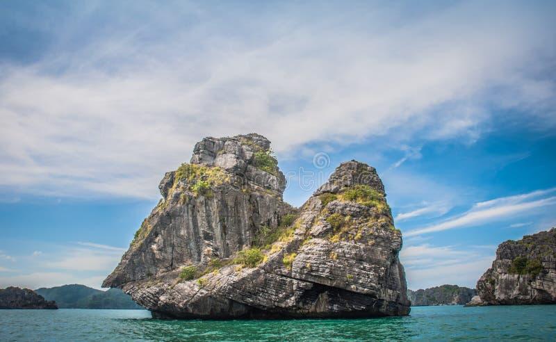 Ko Mae Ko. Panoramic view of the Ko Mae Ko Island in Thailand royalty free stock images