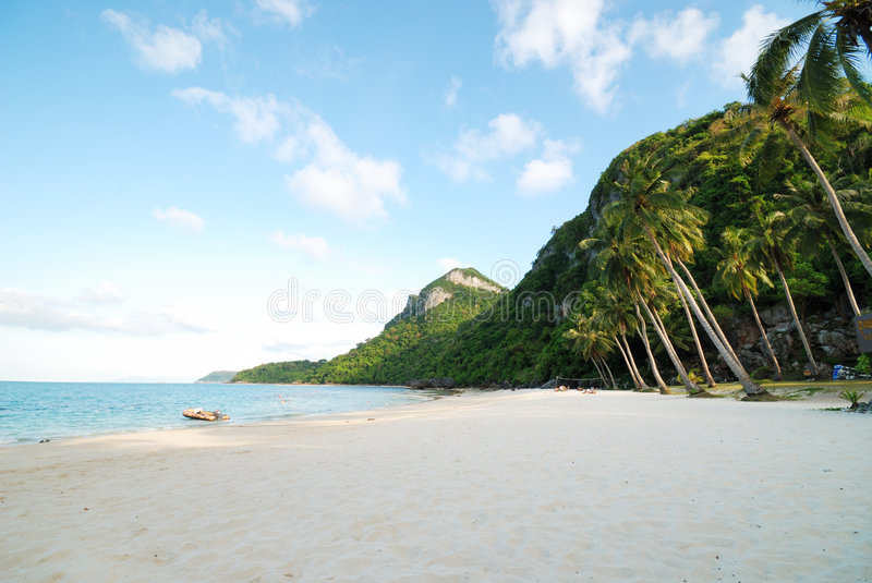 ko mu острова angthong стоковая фотография