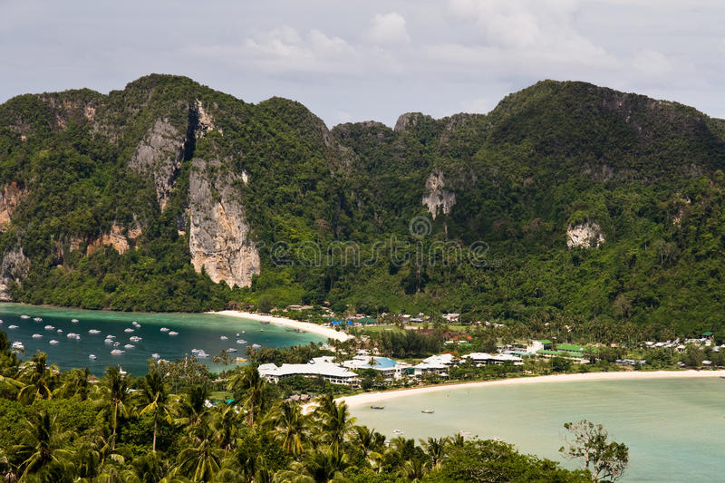 Download Ko Phi Phi Panoramic stock photo. Image of view, travel - 16893370