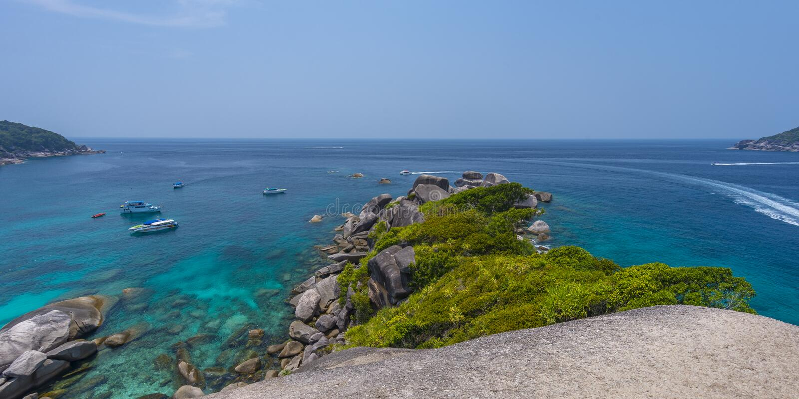 Ko Similan royalty-vrije stock foto
