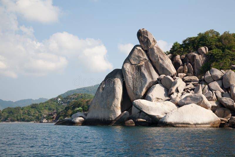Ko Tao Island. Around Ko Tao Island. Thailand stock photography