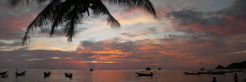 Ko Tao, Tailandia 2 fotografie stock libere da diritti