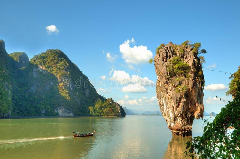 Ko Tapu Island In Thailand Stock Photography