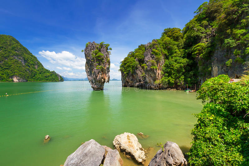 Download Ko Tapu On The James Bond Island In Thailand Stock Photo - Image: 29208638