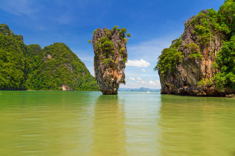 Download Ko Tapu Rock On The James Bond Island In Thailand Stock Photo - Image: 29208568