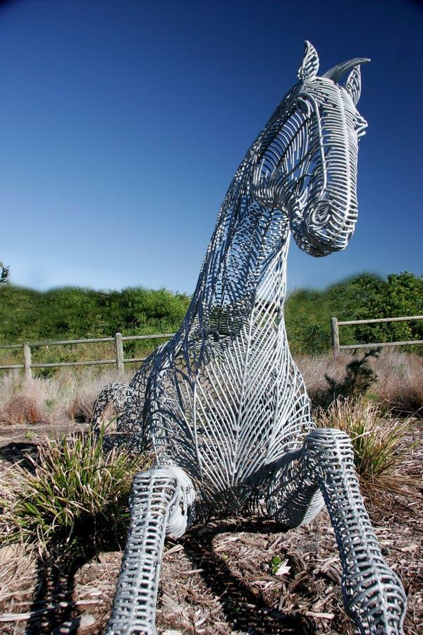 Download Koń trojan obraz stock. Obraz złożonej z rzeźba, metal - 127833