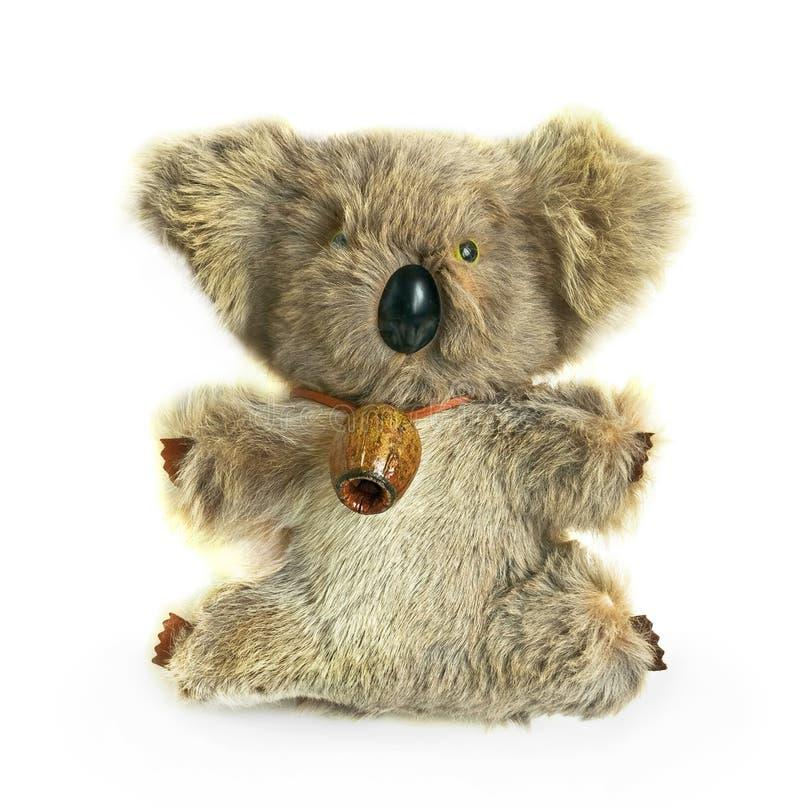 Koala. Toy koala, isolated on white royalty free stock image