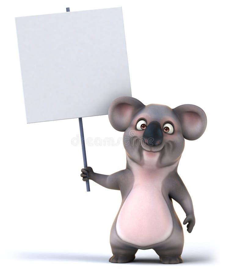 Koala ilustracja wektor