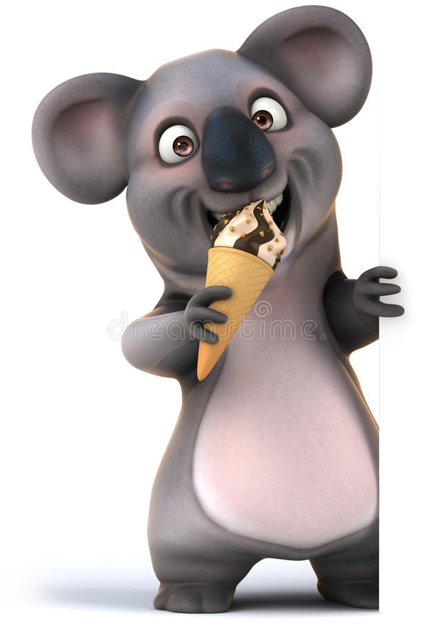 koala stock illustrationer
