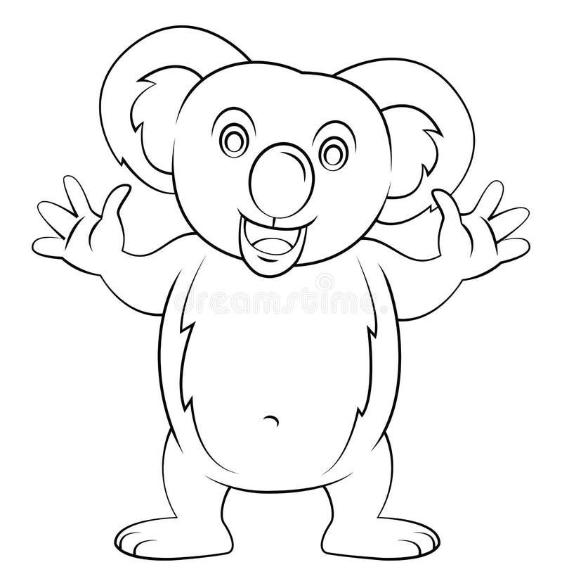 koala иллюстрация штока