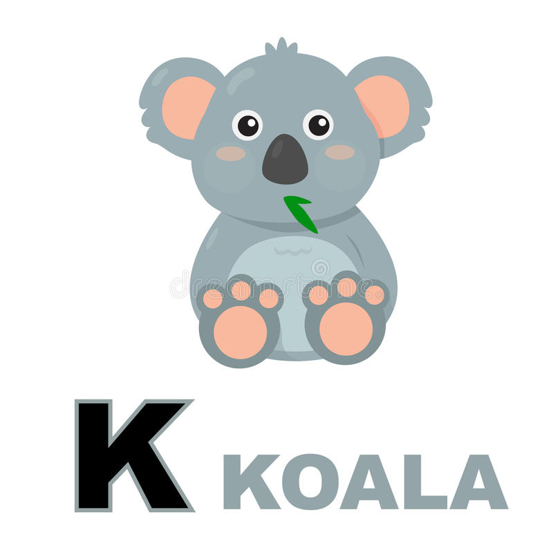koala ilustração stock