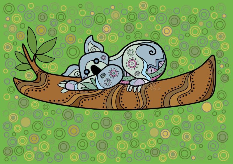 Koala ilustracji