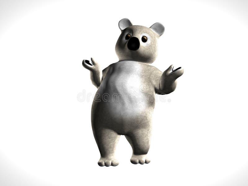 Koala del peluche ilustración del vector