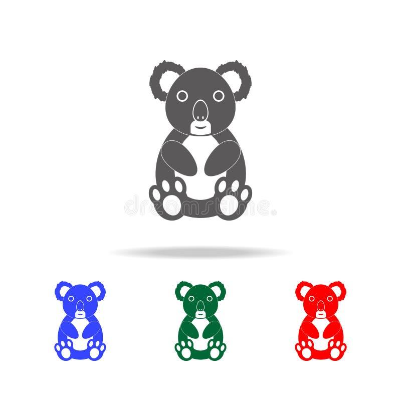 Koala icon. Elements of Australian animals multi colored icons. Premium quality graphic design icon. Simple icon for websites; web royalty free illustration