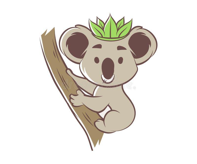 Koala linda de la historieta libre illustration