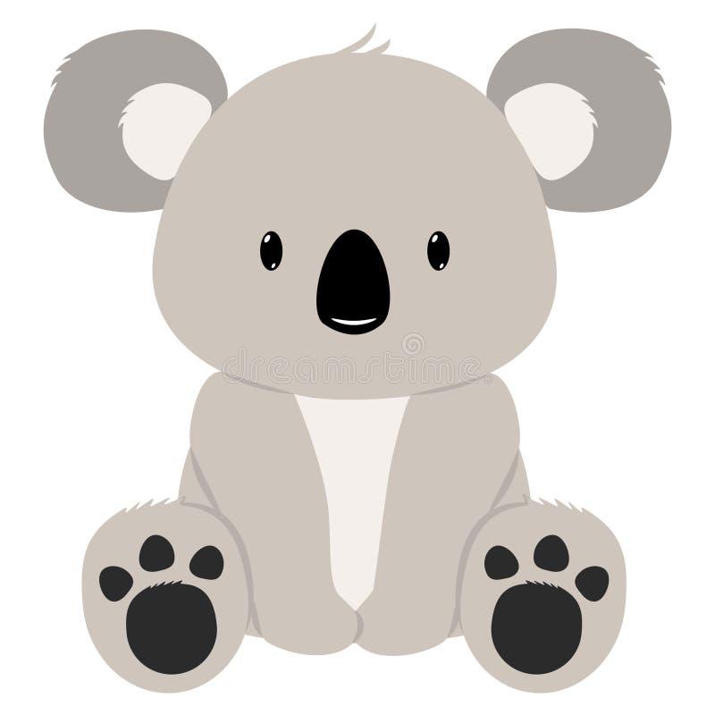 Koala niedźwiedź ilustracja wektor