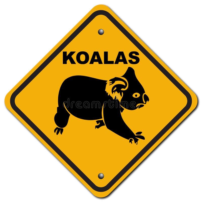 Koalas ilustração do vetor