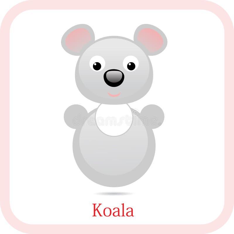 Koalatoy royaltyfri illustrationer