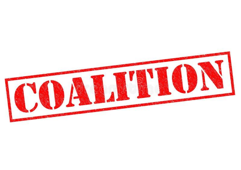 koalition stockfotografie